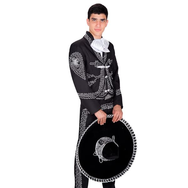 89cec33b96 Men s Traje de Charro – Negro – The Panama West